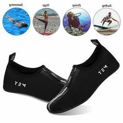 Water Shoes for Womens Mens Barefoot Quick-Dry Aqua Socks, Z