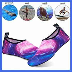 Water Shoes For Womens Mens Barefoot Quick Dry AQUA Socks Be