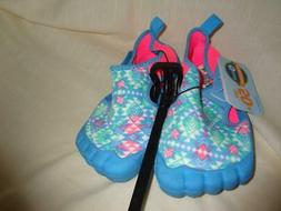 NEWTZ WATER SHOES GIRLS SIZE 11/12  NEW WITH TAGS