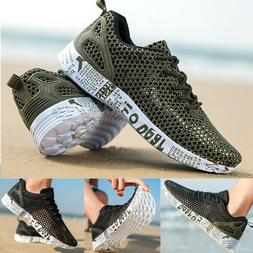 Water Shoes Men Beach shoes Sneaker Sport Athletic Shoes US