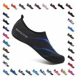 CIOR Water Shoes Men Women Barefoot Skin Aqua Shoes for Beac