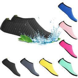 Water Shoes Men Women Skin Socks Aqua Surf Beach Yoga Swim B