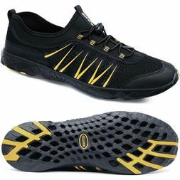 Mokaloo Water Shoes, Quick Drying Aqua Water Shoes for Men S
