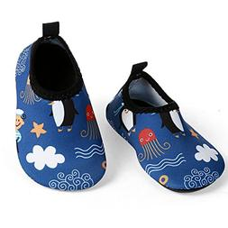 L-RUN Baby's Water Skin Shoes for Beach Swim Pool Blue US 0-