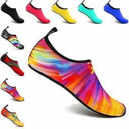 VIFUUR Water Sports Shoes Barefoot Quick-Dry 7.5-8.5 Women/6