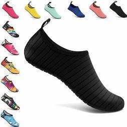 VIFUUR Water Sports Unisex/Kids Shoes Black - 7.5-8.5 W US /