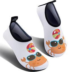 SIMARI Kids Water Shoes Girls Boys Toddler Quick Dry Anti Sl