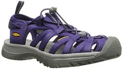KEEN Women's Whisper Sandal, Parachute/Neutral Gray, 8.5 M U