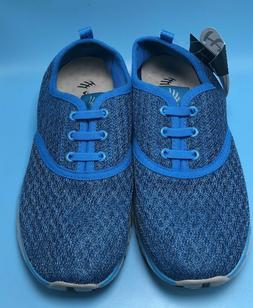 ALEADER Woman's Size 7.5/38 Mesh Water Shoes  8859-3w Blue