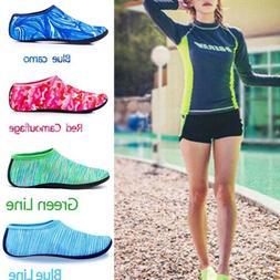 Women Men Water Shoes Non-slip Barefoot Quick-Dry Aqua Socks