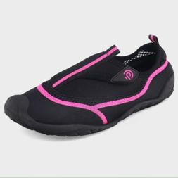 Women's Champion Lucille Water Shoes Sz XL 11/12 Black Pink