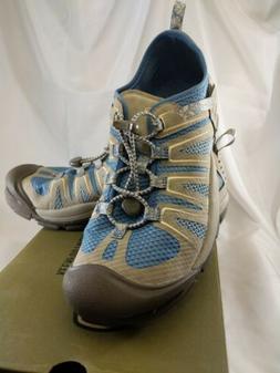 Keen Women's Mckenzie II sky diver/ taupe water Shoe Sandal