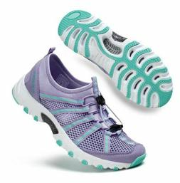 ALEADER Women's Mesh Slip On Athletic Sport Hiking Aqua Wate
