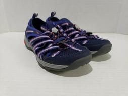 Chaco Women's Outcross Evo 1 Trail Hiking Water Shoes, Blue,