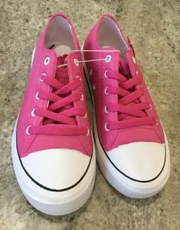 Bobbie Brooks Women's Pink Shoes Rubber Upper Size 8