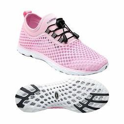 Zhuanglin Women's Quick Drying Aqua Water Shoes Casual Walki