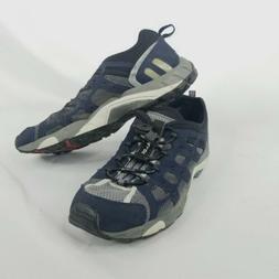 Ecco Women's Shoes Slip On  Sz 9 -9.5 Receptor Blue Hiking T