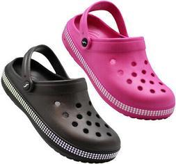 NORTY Women's Slip On Clog Sandal, Walking, Water Shoe or Ga
