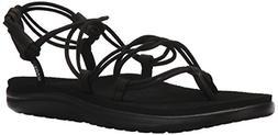 Teva Women's W Voya Infinity Flip-Flop, Black, 8 M US