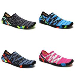 Women's Water Shoes Barefoot Beach Pool Surfing Shoes Aqua Y