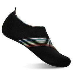 Womens and Mens Kids Water Shoes Barefoot Quick-Dry Aqua Soc