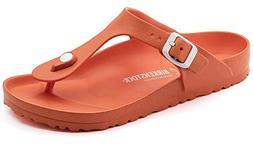 Birkenstock Womens Gizeh EVA Sandals Scuba Coral Size 36 M E