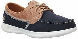 Skechers Womens GOGa MAX Fabric Low Top Slip On Water Shoes,