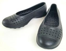 Skechers Womens H2Go Water Shoe Slip On Black Size 8 NEW
