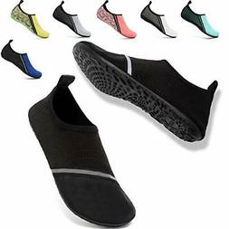 VIFUUR Womens Mens Water Shoes Adjustable Socks Outdoor Beac