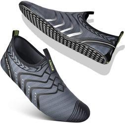 Vifuur Womens Mens Water Shoes Comfortable Barefoot Shoes Fo