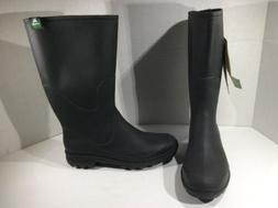 KAMIK Womens Miranda Black Knee High Rain Rubber Water Boots