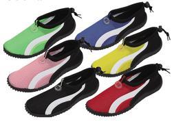 Womens Slip on Water Shoes/Aqua Socks/Pool Yoga Dance Exerci