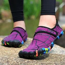 Womens Water Shoes Quick Dry Barefoot Diving Surf Aqua Sport