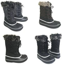 Womens Winter Boots Fur Warm Insulated Water Resistant Ski S