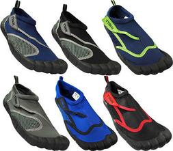 NORTY Young Men's Quick Dry Aqua Shoes Water Sport Beach Poo