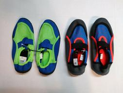 Youth Boys Water Shoes Beach Pool Swim Non-Skid Sole Size 11