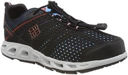 Columbia Unisex Youth Drainmaker III Water Shoe, Black, Supe