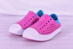 Youth Girl's Skechers Guzman Steps Water Shoes, Hot Pink & T