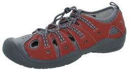 Clarks Youth Jetta Sand J Water Outdoor Sandal Shoes Red/Gre