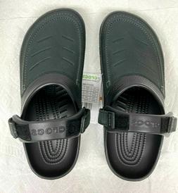 Crocs Yukon vista Clog/Slip on Casual Water shoes, Black US